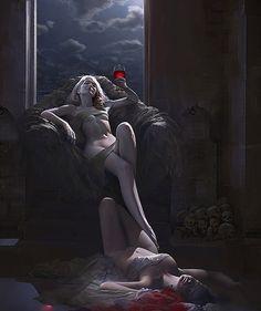 Digital Illustrations by Steven Stahlberg