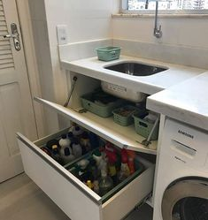 Storage ideas for apartments home decor laundry rooms 41 New ideas Bathroom Interior, Interior Design Living Room, Living Room Designs, Laundry Room Layouts, Laundry Room Design, Laundry Rooms, Home Decor Kitchen, Diy Home Decor, Kitchen Storage