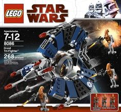 LEGO Star Wars Trifighter Droid (8086) - http://www.rekomande.com/lego-star-wars-trifighter-droid-8086/