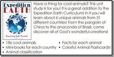 Expedition Earth World Animals