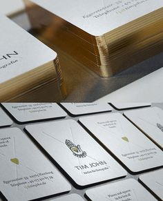 Luxurious Business Card Design | Business Cards | The Design Inspiration