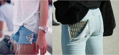 soo doing this to my jeans!