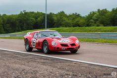 #Ferrari #250 GT #Breadvan au Grand Prix de l'Age d'Or. #MoteuràSouvenirs Reportage complet : http://newsdanciennes.com/2016/06/06/jolis-plateaux-beau-succes-grand-prix-de-lage-dor-2016/ #ClassicCar #VintageCar