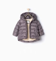 Image 1 of Quilted star coat from Zara