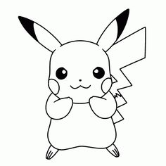 Here are the Awesome Coloring Pages Of Pikachu Coloring Page. This post about Awesome Coloring Pages Of Pikachu Coloring Page was posted . Pikachu Coloring Page, Pokemon Coloring Pages, Cute Coloring Pages, Animal Coloring Pages, Coloring Books, Colouring, Pikachu Drawing, Pokemon Sketch, Cool Pokemon Cards