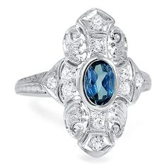 The Preston Ring from Brilliant Earth  *ok another antique ring I'd love to have! My new favorite jeweler!