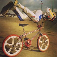 #bmx #oldschool #freestyle #skyway #tuffs #vans #oldschoolbmx #Padgram