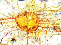 John Olsen, one of my favourite Australian artists John Olsen Sydney Sun [or King Sun] National Gallery of Australia © John Olsen Sun Painting, Insect Art, Art Courses, Indigenous Art, Australian Artists, Science Art, Cool Art, Contemporary Art, Art Gallery
