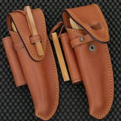 French Leather Knife Sheaths - French Knives