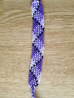 Friendship bracelet pattern 2507