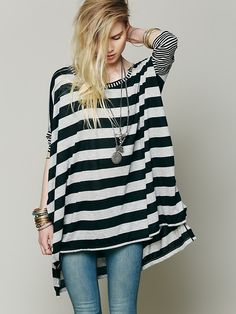 Free People Striped Big Dipper, 78.00