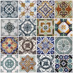 Portugal tiles~gorgeous!