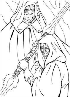 coloriage dessins dessins imprimer et la couleur en ligne star wars 18