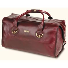 3073a4870972 R M Williams Leather Overnight Bag