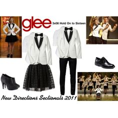 """New Directions (Glee) : Sectionals 2011"" by aure26 on Polyvore"