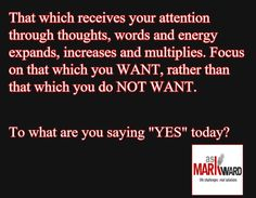 You have creative power. You are using it right now. To what end?