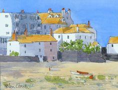 St Ives, Cornwall, Watercolour & Ink Original