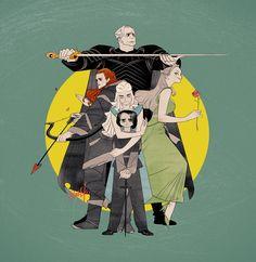 Game of Thrones by zeekolee on deviantART