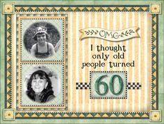 Turning 60 - Scrapbook.com