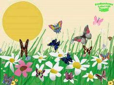 Canción Infantil  Es ya la primavera.