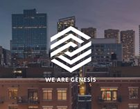 Genesis One Page Template by Codeventus #webdesign
