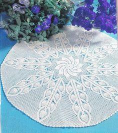 crochet doily center piece table decoration  PATTERN  by UMKA11, $5.98