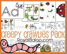 Creepy Crawlies Pack