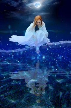 Beautiful Fantasy Art, Beautiful Gif, Beautiful Fairies, Beautiful Pictures, Good Night Beautiful, Angel Images, Angel Pictures, Good Night Gif, Good Night Image