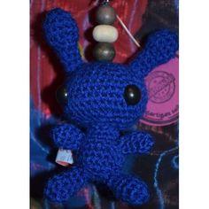 Schlüsselanhänger Alien Pit, dunkelblau
