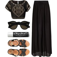 A fashion look from March 2013 featuring Club L tops, MANGO skirts and Jack Wills sandals. Browse and shop related looks.