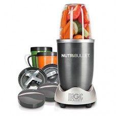 Magic Bullet NutriBullet 12-Piece High-Speed Blender/Mixer System Best Breakfast Smoothies, Healthy Smoothies, Healthy Drinks, Healthy Eating, Vegetable Smoothies, Green Smoothies, Nutribullet Recipes, Smoothie Recipes, Nutribullet 600