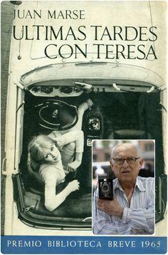 """Oriol Maspons (Barcelona 1928-2006) és l'autor de la fotografia que va il·lustrar la primera portada del llibre """"Últimas tardes con Teresa"""" de Seix Barral. Maspons va ser un dels fotògrafs més significatius dels anys cinquanta i va modernitzar aquest camp artístic. Els seus treballs van plasmar dues realitats ben diferents de Barcelona, per una part el glamur de models i artistes de la"""" gauche divene"""" i per l'altre aquella més fosca com les barraques del Somorrostro"""