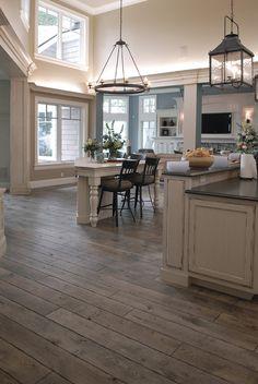 I really like hardwood floors for the kitchen