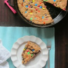 I like my cookies to be gigantic and made in a skillet.