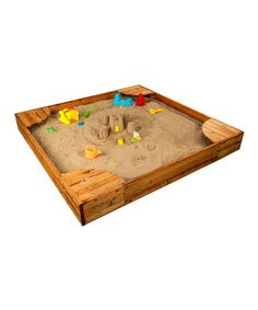 take a look at this backyard sandbox by kidkraft on zulily today