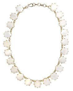 Sam Statement Necklace in White Pearl - Kendra Scott Jewelry #kendrascott #teamKS