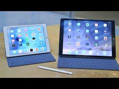 Apple iPad Pro tablets 11.7 and 12.9 inch with Apple Pencil