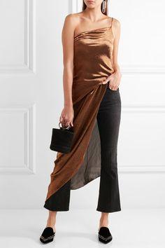 Nicholas Kirkwood - Beya Embellished Velvet Slippers - Black - IT38.5
