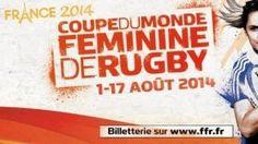 Les Bleues rêvent de gagner la première Coupe du monde de rugby féminin à Paris - France 3 Paris Ile-de-France - 29/07/2014