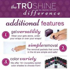 Jamberry TruShine Gel Polish!!