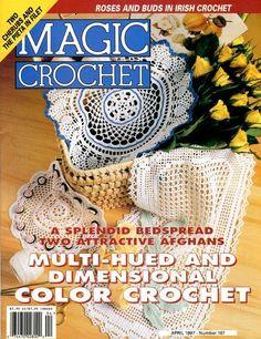 MAGIC CROCHET MAGAZINE  April 1997   Number 107  by KenyonBooks, $5.00
