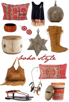 Bohemian Style.. Yes Please, I have a place for all of these! :)