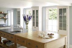 Butcher Block Countertops Add Warmth to a Kitchen