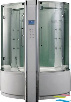 Two Person Whirlpool Bath Steam Shower Combo G160i With Lcd Tv And ... | {Duschbadewanne whirlpool 68}