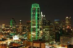 Dallas from Bank of America Plaza - 照明探偵団