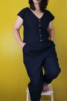 Marilla Walker: NEW PATTERN - ROBERTS PATTERN - VIEW A - JUMPSUIT