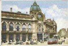 Prague postcard - Municipal Palace