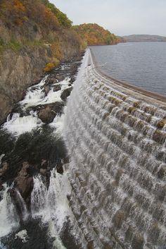 Spillway at Croton Dam by Mark  Tara, via Flickr