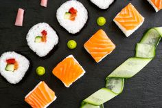 Sushi arrangement by Clare Fenwick Hyde
