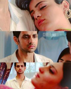 Heart touching moment where RV himself cried after seeing ishani in chiragh's arms. And rv was the one to save ishani from fire  their chemistry was somehow touchy  #kirancreations #meriashiquitumsehi #radhikamadan #shaktiarora #colorstv #matsh #ishveer #shadhika #shaktians #love #expressions